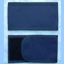 Plain Wrap Armband - Navy